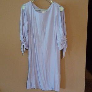 H&M light blue dress